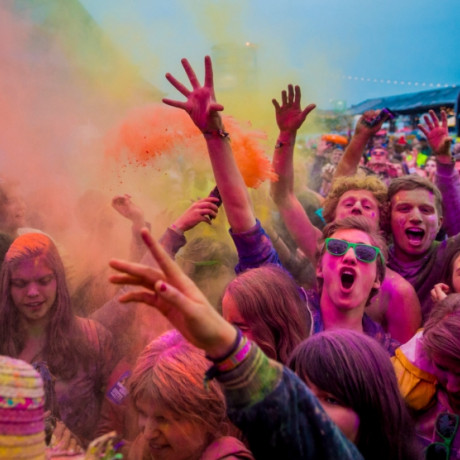Holi Couleur with TLP