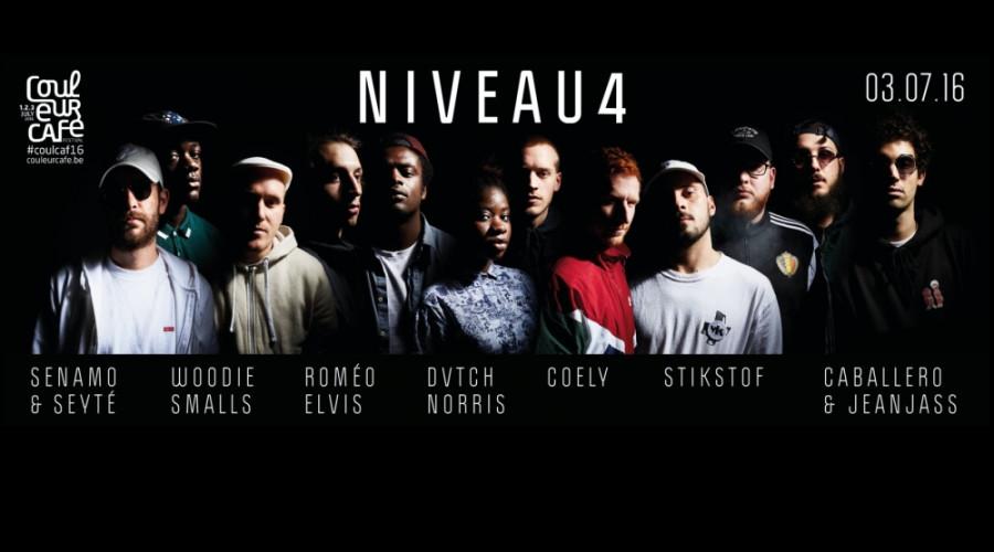 Niveau4 unitesBelgium's finest rappers