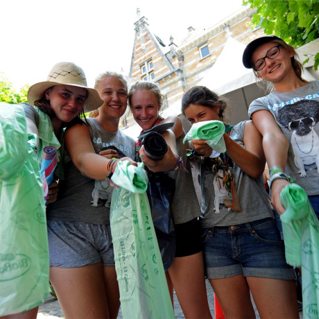 Recycling at Couleur Café